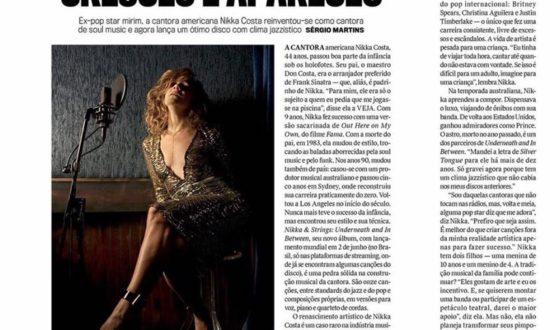 Nikka Costa entrevista na Veja