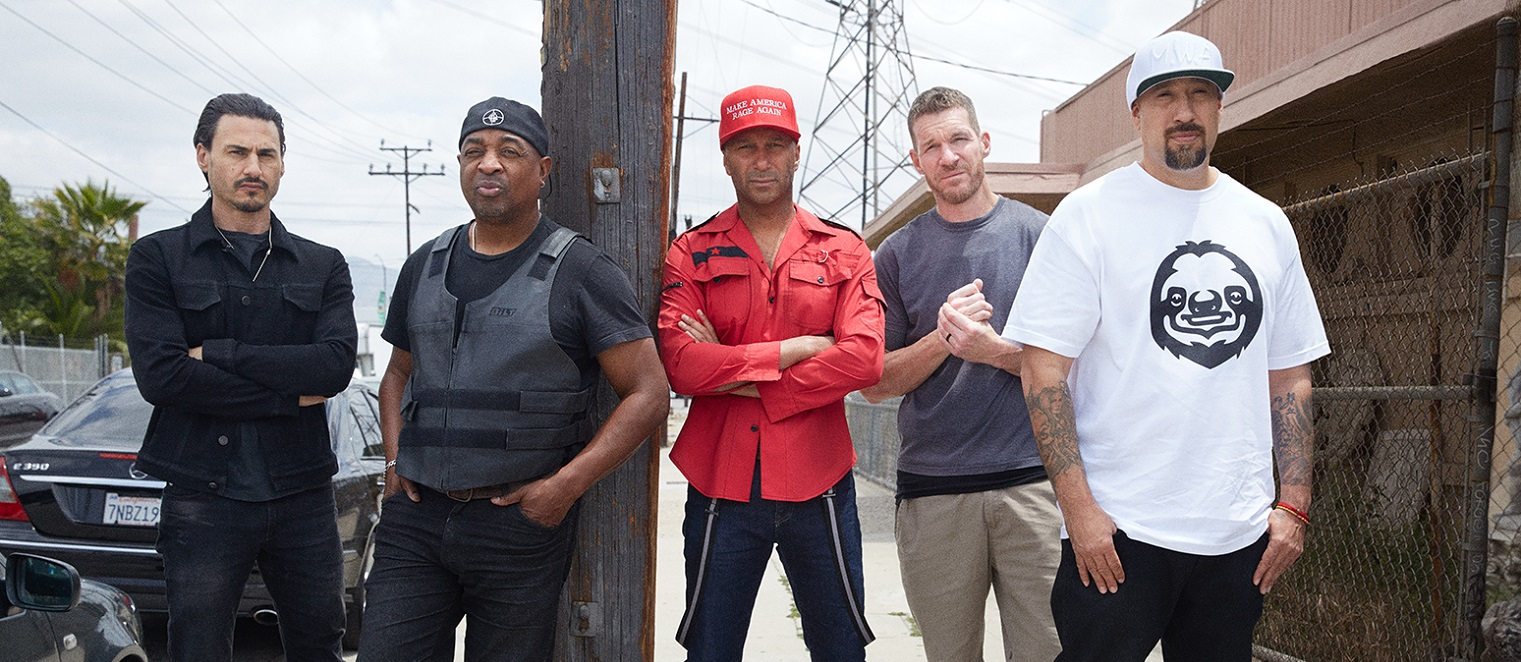 Prophets Of Rage divulga capa do novo álbum